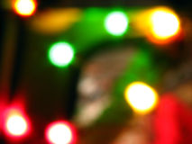 Disco Blurs Royalty Free Stock Images