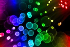 Disco Bokeh Background Stock Photos