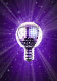 Disco bulb Royalty Free Stock Photo
