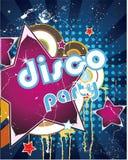 Disco card royalty free stock photo
