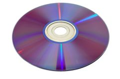 Disco CD 6 de DVD Fotos de Stock Royalty Free