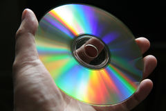 Disco CD Foto de Stock Royalty Free