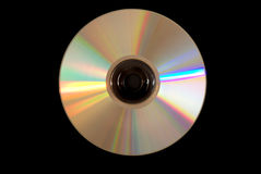 Disco CD d'argento Fotografia Stock