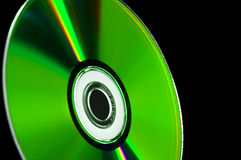 Disco cd da azul-raia do dvd do computador Imagens de Stock Royalty Free