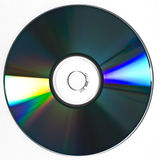 Disco CD de DVD (isolado) Foto de Stock Royalty Free