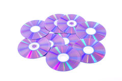 Disco Cd do dvd Foto de Stock Royalty Free