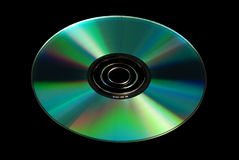 Disco CD dobrado Foto de Stock Royalty Free