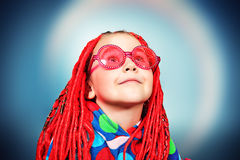 Disco child Stock Images