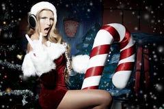 Disco christmas Stock Photo