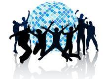 Disco club Stock Image