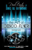 Disco Club Flyer Template for your Music Nights Event. Royalty Free Stock Photos