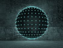 Disco club sphere Royalty Free Stock Photos