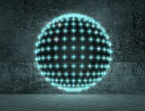 Disco club sphere Stock Image