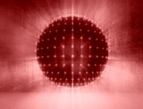 Disco club sphere Royalty Free Stock Image