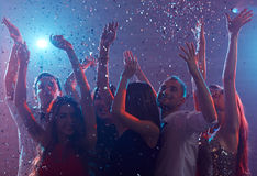 Disco clubbing Stock Images