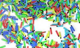 Disco colorido do usb do fundo, 3d Foto de Stock
