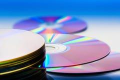 Disco compacto Imagenes de archivo