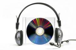 Disco compacto audio Imagens de Stock