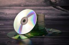 Disco compacto de los Cdes CD Foto de archivo libre de regalías