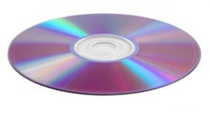 Disco compacto isolado no fundo branco Foto de Stock