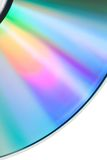 Disco compacto vacío del detalle Imagenes de archivo