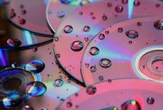 Disco compatto fotografia stock