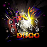 Disco  composition Stock Photo