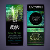 Disco Corporate identity templates. Royalty Free Stock Images