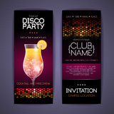 Disco Corporate identity templates. Stock Image