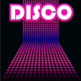 Disco cover template Royalty Free Stock Photo