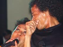 Disco-dúo Ottawan Foto de archivo