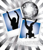 Disco and dance Stock Image