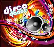 Disco Dance Background. Music Event Disco Dance Background - Music Series Royalty Free Stock Image