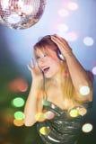 Disco dance Stock Images