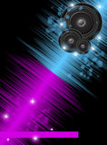 Music colorful background Stock Image