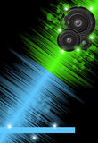 Music colorful background Royalty Free Stock Image