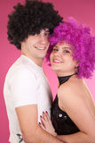 Disco dancers Royalty Free Stock Photography