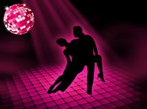 Disco dancing Royalty Free Stock Image