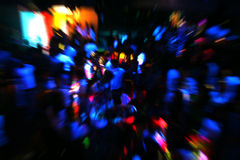 Disco Dancing people Stock Images