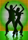 Disco Dancing Stock Photo