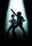 Disco Dancing Stock Images