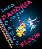 Disco Dandiya Royalty Free Stock Photography