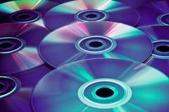 Disco de CD/DVD Fotografía de archivo libre de regalías