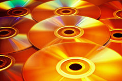 Disco de CD/DVD fotos de archivo libres de regalías