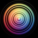 Disco de Colorfull Fotos de archivo