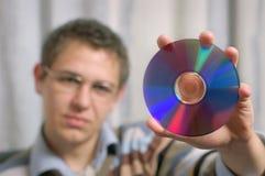 Disco de Dvd Foto de archivo libre de regalías