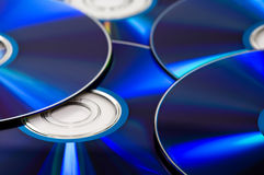 Disco de Dvd Fotografia de Stock Royalty Free