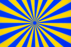 Disco de giro azul amarelo Imagens de Stock Royalty Free