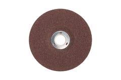 disco de la amoladora de la fibra fotos de archivo libres de regalías