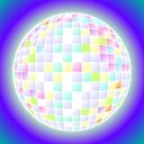 Disco de la bola Stock de ilustración